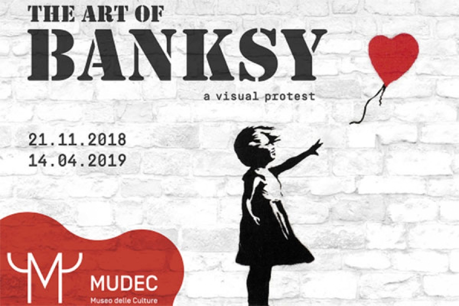 A Visual Protest: l'arte di Banksy in mostra al MUDEC
