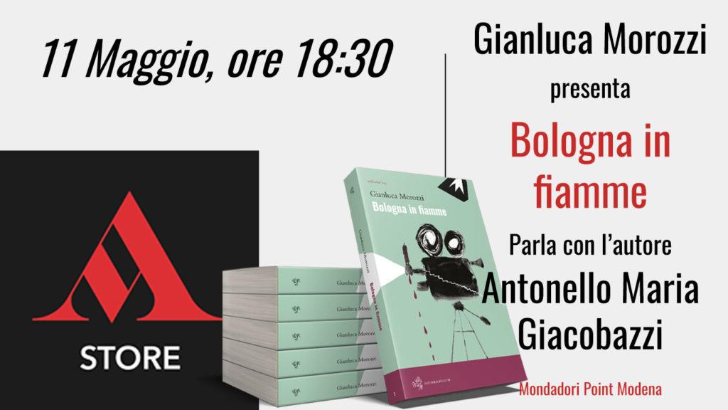 presentazione Mondadori Bologna in fiamme