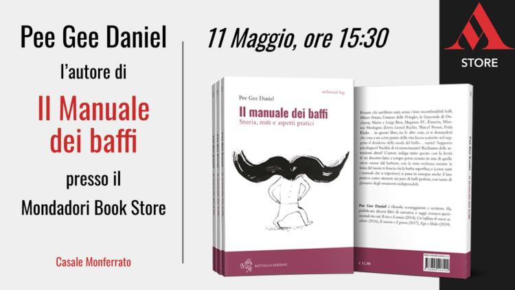 Firma copie Pee Gee Daniel – Mondadori Bookstore di Monferrato