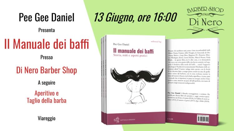 """Presentazione """"Il manuale dei baffi"""" – Barber Shop Di Nero"""